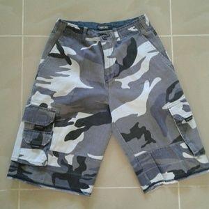 Cherokee Blue Camo Shorts